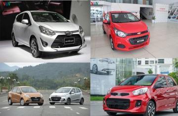 Phân khúc xe cỡ nhỏ, giá rẻ tại Việt Nam ngày càng khốc liệt?
